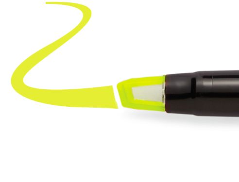 Sharpie Highlighter - Clear View® Stick