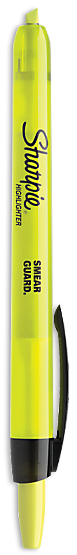Sharpie Highlighter - Retractable