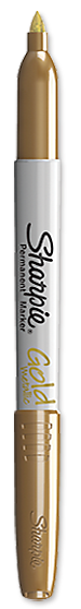 Metallic Fine Point Permanent Marker